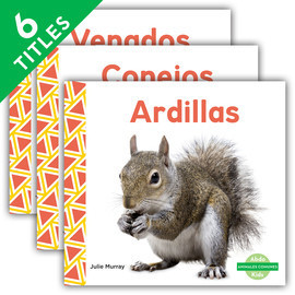 Cover: Animales comunes (Everyday Animals ) (Spanish Version)