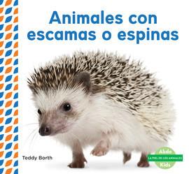 Cover: Animales con escamas o espinas