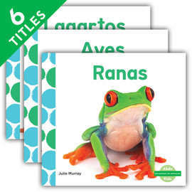 Cover: ¡Me gustan los animales! (I Like Animals! Set 1) (Spanish Version)