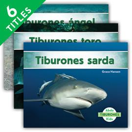 Cover: Tiburones (Sharks Set 2) (Spanish Version)