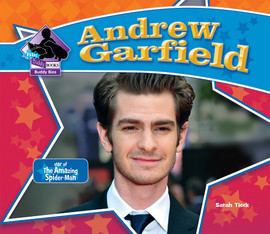 Cover: Andrew Garfield: Star of The Amazing Spider-Man