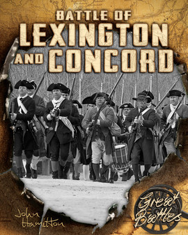Cover: Battles of Lexington and Concord