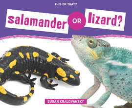 Cover: Salamander or Lizard?