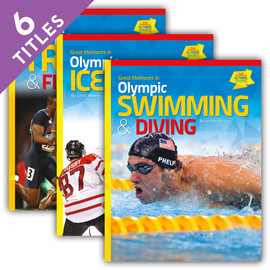 Cover: Great Moments in Olympic Sports