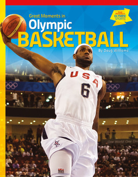 Cover: Great Moments in Olympic Basketball