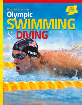 Cover: Great Moments in Olympic Swimming & Diving