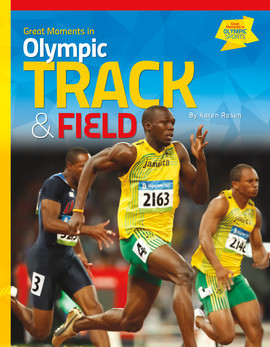 Cover: Great Moments in Olympic Track & Field
