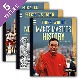 Cover: Greatest Events in Sports History