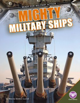 Cover: Mighty Military Ships