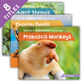 Cover: World's Weirdest Animals
