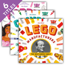Cover: Toy Trailblazers