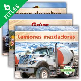 Cover: Máquinas de construcción (Construction Machines) (Spanish Version)