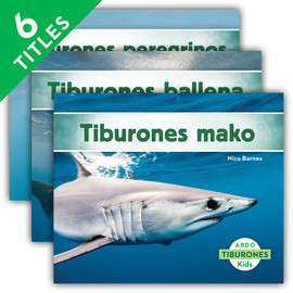 Cover: Tiburones (Sharks Set 1) (Spanish Version)