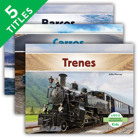 Cover: Medios de transporte (Transportation) (Spanish Version)