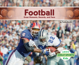 Cover: Football: Great Moments, Records, and Facts