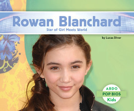 Cover: Rowan Blanchard: Star of Girl Meets World