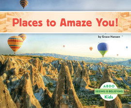 Cover: Places to Amaze You!