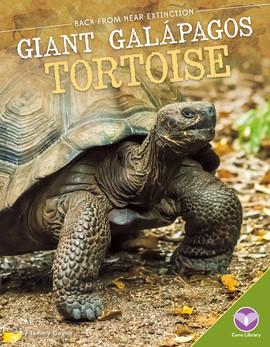 Cover: Giant Galápagos Tortoise