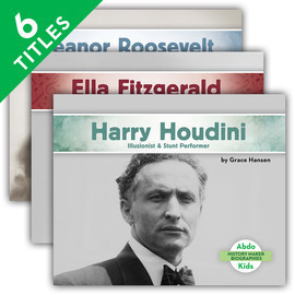 Cover: History Maker Biographies Set 2