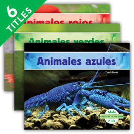 Cover: Animales de colores (Animal Colors) (Spanish Version)