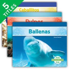 Cover: La vida en el océano (Ocean Life) (Spanish Version)
