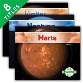 Cover: Planetas (Planets) (Spanish Version)