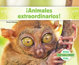 Cover: ¡Animales extraordinarios!