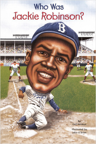Cover: Who Was Jackie Robinson?