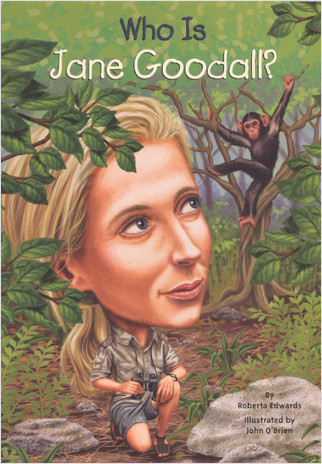 Cover: Who Is Jane Goodall?