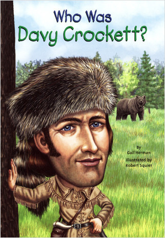 Cover: Who Was Davy Crockett?