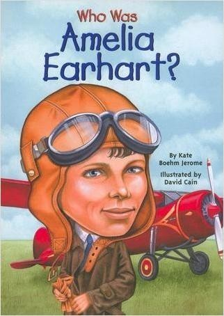 Cover: Who Was Amelia Earhart?