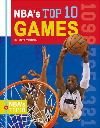 Cover: NBA's Top 10 Games