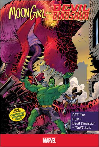 Cover: BFF #4: Hulk + Devil Dinosaur = 'Nuff Said