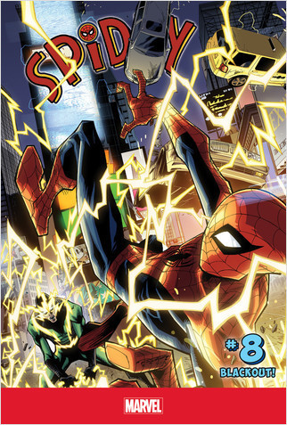 Cover: Spidey #8: Blackout!