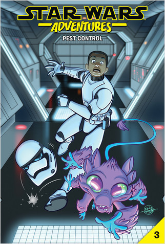 Cover: Star Wars Adventures #3: Pest Control