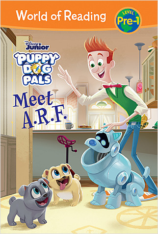 Cover: Puppy Dog Pals: Meet A.R.F.