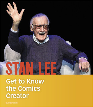 Cover: Stan Lee: Get to Know the Comics Creator