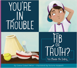 Cover: You're in Trouble: Fib or Truth?