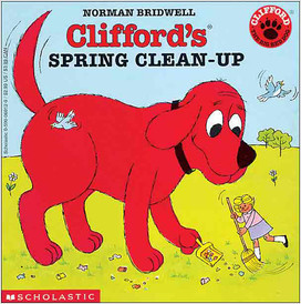 Cover: Clifford's Spring Clean-Up