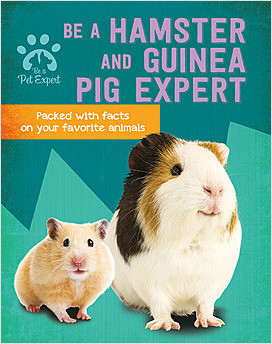 Cover: Be a Hamster and Guinea Pig Expert
