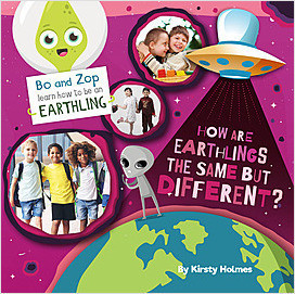 Cover: Bo and Zop Learn How to Be an Earthling