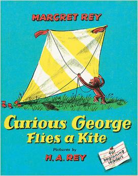 Cover: Curious George Flies A Kite