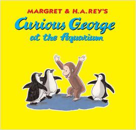 Cover: Curious George At The Aquarium