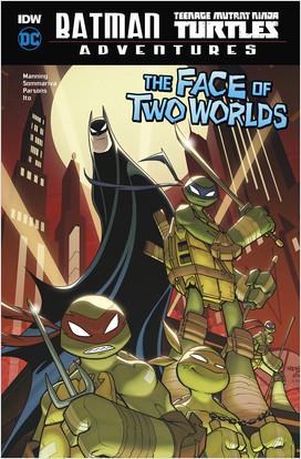 Cover: Batman / Teenage Mutant Ninja Turtles Adventures
