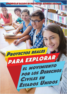 Cover: Aprendizaje basado en proyectos: Estudios sociales (Project-Based Learning in Social Studies)