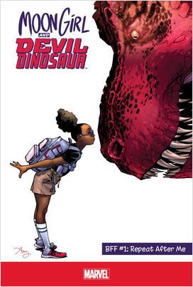 Cover: Moon Girl and Devil Dinosaur