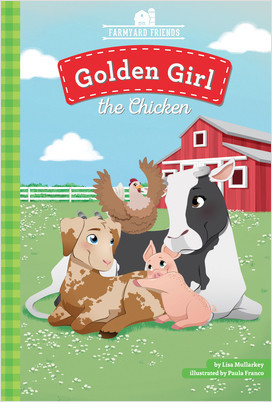 Cover: Golden Girl the Chicken