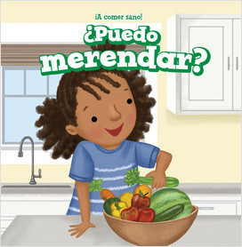 Cover: ¡A comer sano! (Let's Eat Healthy!)