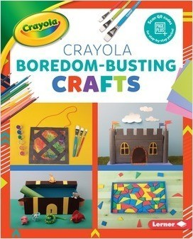 Cover: Colorful Crayola ® Crafts