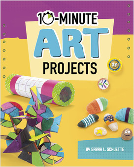 Cover: 10-Minute Art Projects
